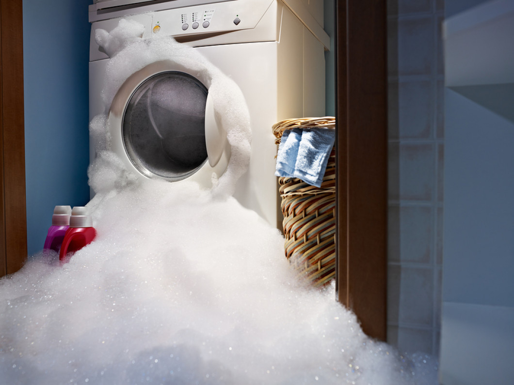 Loud or leaky washing machines? We can fix that!